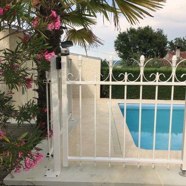 poortje zwembad